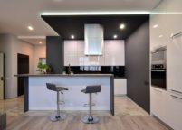 кухня студия на заказ - 13
