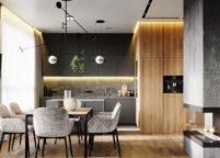 кухня студия на заказ - 5