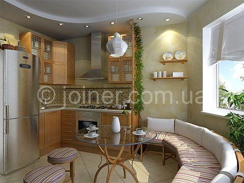 Дизайн нестандартных кухонь фото