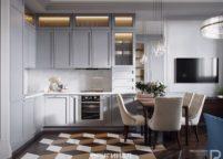 кухня студия на заказ - 29