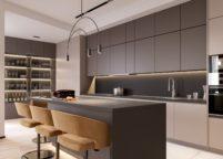 кухня студия на заказ - 40
