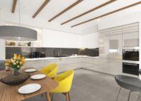 кухня студия на заказ - 45