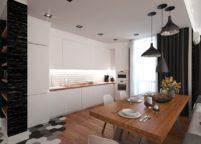 кухня студия на заказ - 47