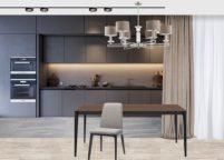 кухня студия на заказ - 49