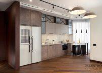 кухня студия на заказ - 51