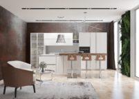 кухня студия на заказ - 79
