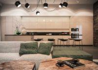 кухня студия на заказ - 88