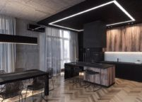 кухня студия на заказ - 89