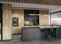 кухня студия на заказ - 105