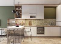 кухня студия на заказ - 135
