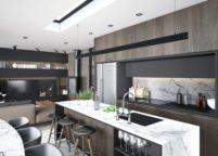 кухня студия на заказ - 136