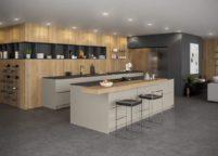 кухня студия на заказ - 145