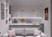 кухня студия на заказ - 154