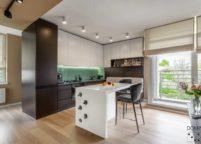 кухня студия на заказ - 157