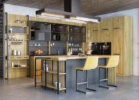кухня студия на заказ - 159