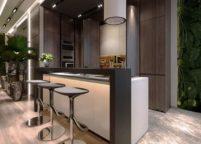 кухня студия на заказ - 163