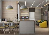 кухня студия на заказ - 164