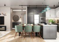 кухня студия на заказ - 172