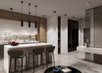 кухня студия на заказ - 169