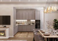 кухня студия на заказ - 171