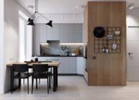 кухня студия на заказ - 175