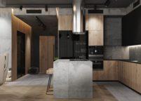 кухня студия на заказ - 14