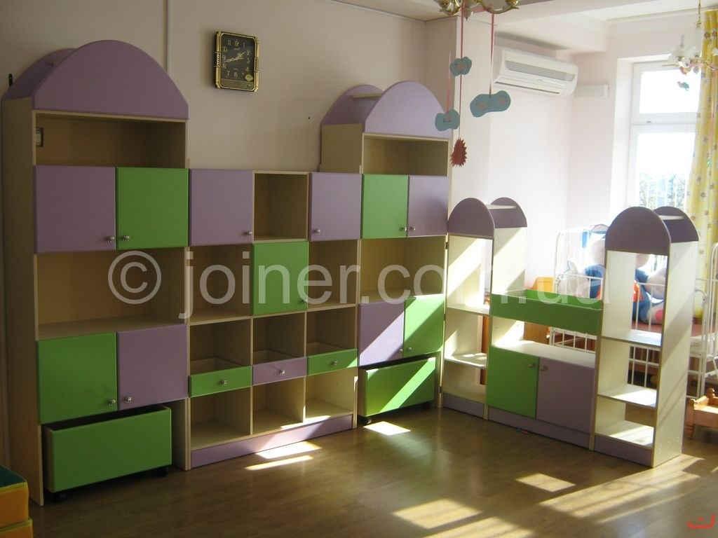 Шкафы, стеллажи, игровая мебель для детского сада ask - выго.