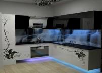 Кухня с подсветкой - 1