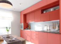 кухня с подсветкой - 24