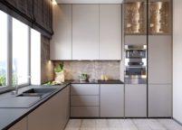 кухня с подсветкой - 18