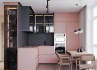 кухня с подсветкой - 13