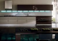 Кухня с подсветкой - 19