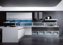 Кухня с подсветкой - 20
