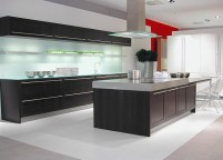 Кухня с подсветкой - 17