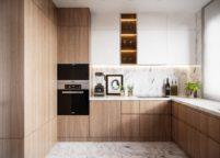 кухня с подсветкой - 40