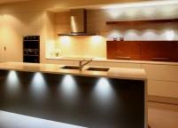 Кухня с подсветкой - 22