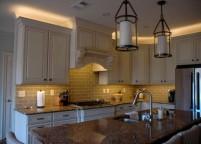 Кухня с подсветкой - 23