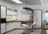 Кухня с островом - 24