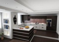 кухня с островом - 79