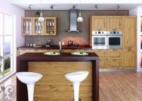 кухня с островом - 82