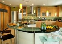 кухня с островом - 66