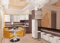Кухня с островом - 47