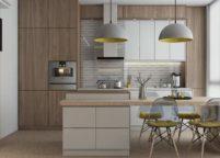 кухня с островом - 33