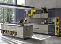 кухня с островом - 11