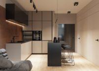 кухня с островом - 6