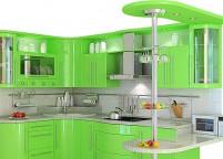 Кухня с островом - 58