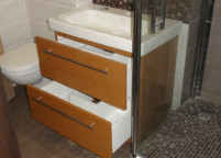 Мебель в ванную комнату -9