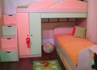 Кровать двухъярусная - 3