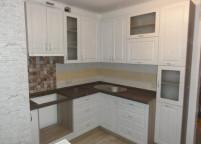 Кухня белая классика - 40