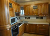 Кухня натуралка дерево - 51